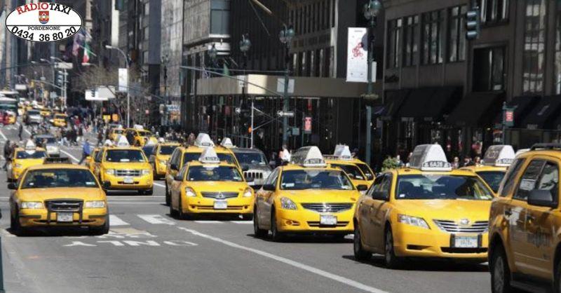 Radio Taxi offerta servizio alberghiero - occasione trasporto taxi per e da albergo Pordenone