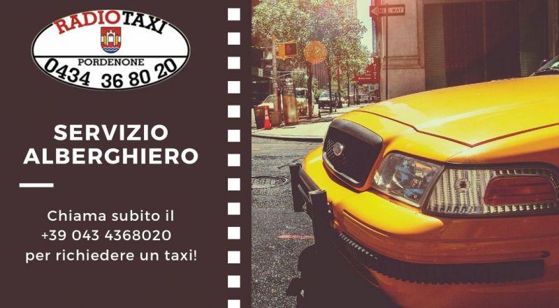 Occasione servizio taxi alberghiero a Pordenone - Offerta trasferimenti per gli aereporti a Pordenone