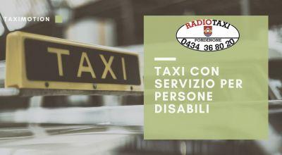 occasione servizio taxi persone disabili a pordenone offerta taxi speciali per disabili a pordenone