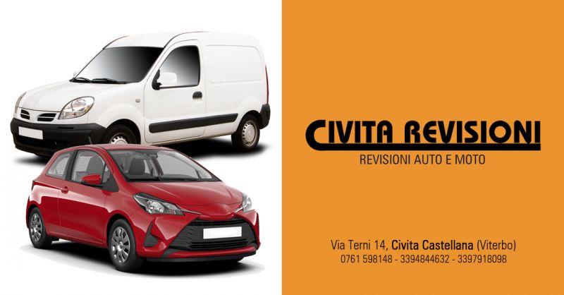 CIVITA REVISIONI - offerta Centro Revisione veicoli azinedali Civita Castellana