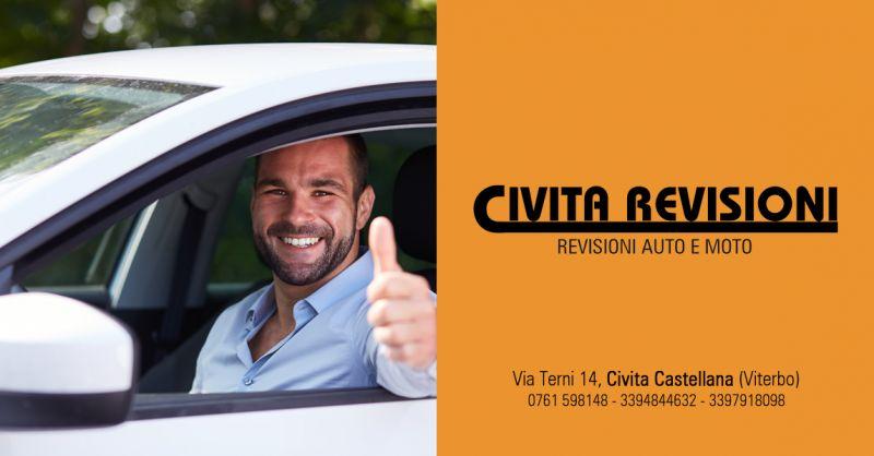CIVITA REVISIONI - offerta Revisioni con ritiro consegna gratuita civita castellana