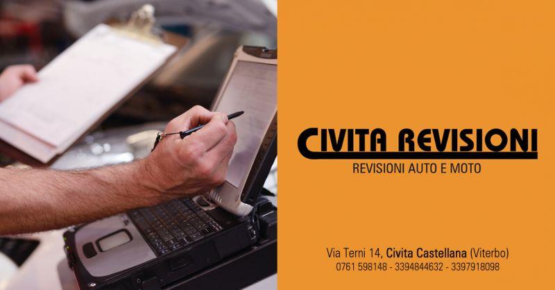 CIVITA REVISIONI - offerta Controllo Gas Scarico Cambio FIltri olio civita castellana