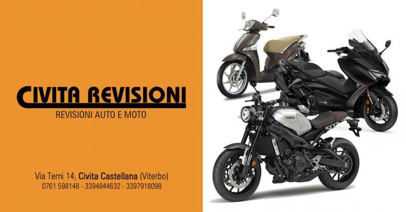 CIVITA REVISIONI - offerta revisionare ciclomotore motorino civita castellana