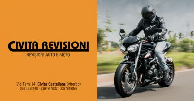 civita revisioni offerta revisionare moto motocicli civita castellana