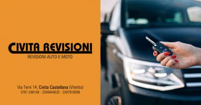 civita revisioni offerta revisione con ritiro auto domicilio civita castellana