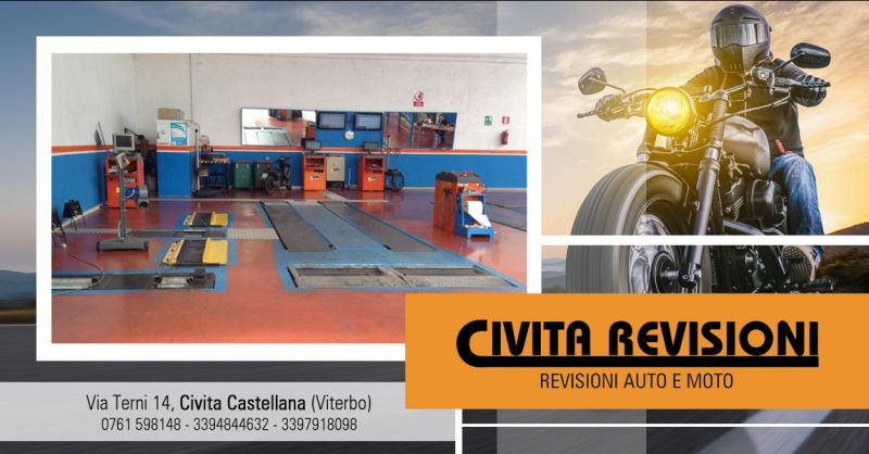 Offerta Centro Revisioni Moto Viterbo - Occasione Revisione Obbligatoria Ciclomotore Viterbo