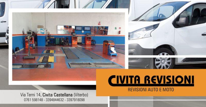 Offerta Revisione Vecoli Commerciali Viterbo - Occasione Revisione Mezzi Aziendali Viterbo