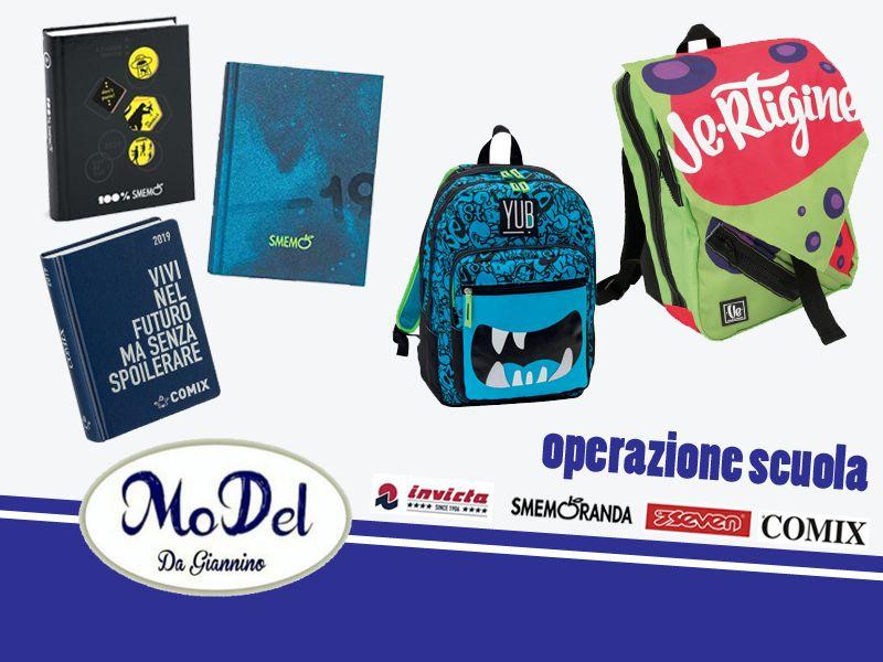 offerta iniziare la scuola 2018 2019 - promozione scuola comix smemo invicta seven