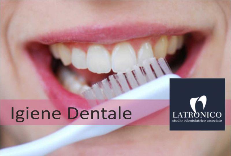 Offerta Igiene dentale Imperia | STUDIO LATRONICO