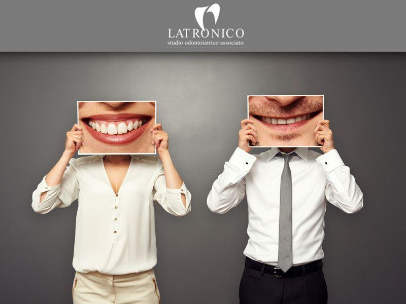 offerta sbiancamento dentale - promozione denti bianchi studio dentistico latronico