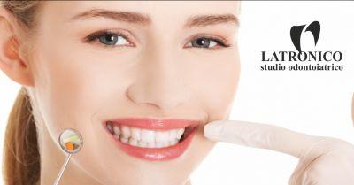 studio latronico offerta cura carie dentali occasione apparecchi per denti imperia