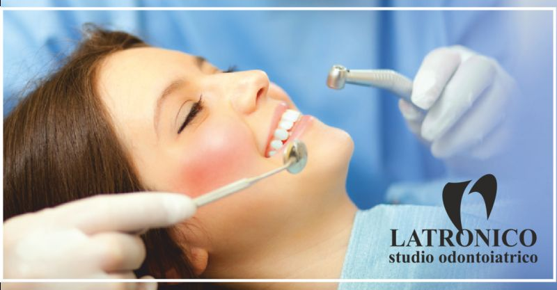 studio latronico offerta paradontologia - occasione cura denti cariati imperia