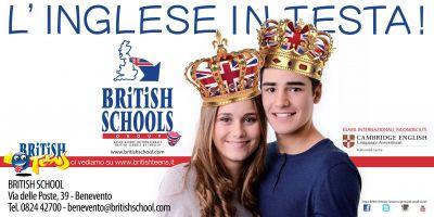 iscrivi tuo figlio al corso di inglese british teens alla british school benevento