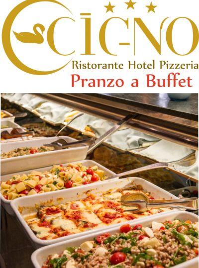 offerta pranzo a buffet ristorante il cigno