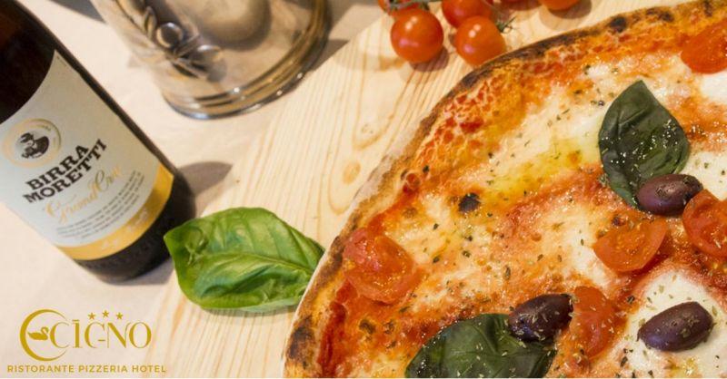 Pizzeria il Cigno offerta specialita pizze -occasione pizza genuina, alta digeribilita Latisana