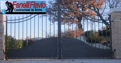 fanelli flavio offerta lavorazione ferro occasione realizzazione cancelli tettoie