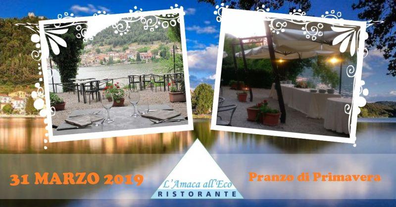 offerta mangiare in riva al lago Piediluco - occasione ristorante lungo lago Terni