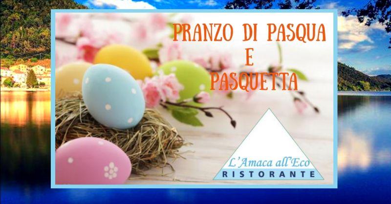 offerta mangiare in riva al lago Piediluco Terni - occasione Pasqua ristorante lungo lago Terni