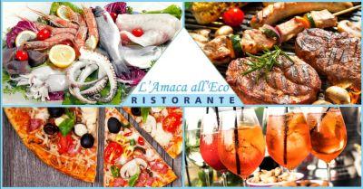 offerta ristorante carne e pesce lago di piediluco terni occasione dove mangiare pizza terni