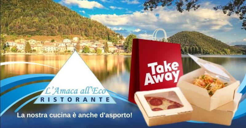 Offerta ristorante con servizio take away Terni - Occasione ristorante con menù d'asporto Terni