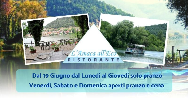 Occasione miglior ristorante sul lago di Piediluco - Offerta dove mangiare specialità cucina umbra Terni