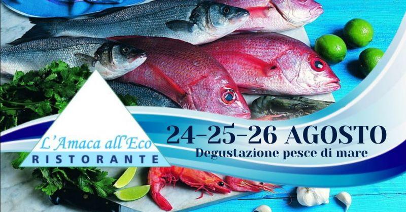 Offerta ristorante al lago di Piediluco Terni - Occasione ristorante dove mangiare pesce fresco Terni