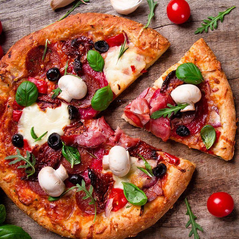 Ampia scelta di gustose Pizze. Provale!