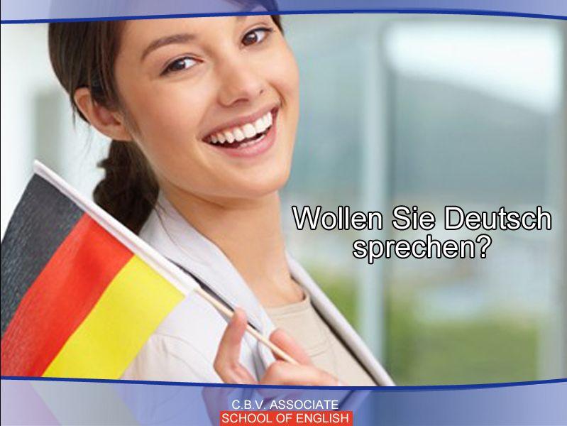Si!Happy - Offerta Corso Tedesco - Promozione corso lingua tedesco - Scuola di inglese C.B.V