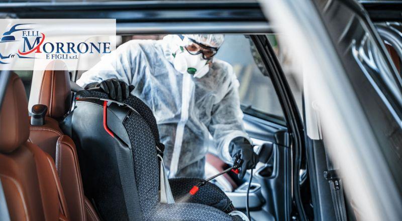 Autocarrozzeria Morrone offerta lavaggio completo auto  Cosenza – Promozione sanificazione interni veicolo