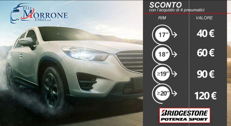 Offerta pneumatici Bridgestone SUMMER cosenza - promozione pneumatici Bridgestone ALL SEASON cosenza