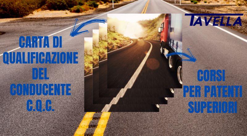Occasione corsi per patenti di categoria superiore C, D, CE, DE a Pordenone – offerta corsi per abilitazione conducenti che trasportano merci o persone su strada Carta di Qualificazione del Conducente