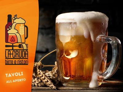 offerta ristorante pizzeria birre artigianali promozione birrificio magester la cruda