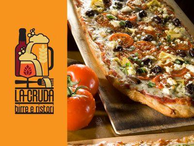offerta specialita pizza e birra promozione pizza alla pala la cruda ristorante birrario