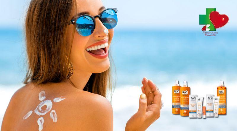 Promozione corpo e viso solari Roc Cosenza - Offerta protezione solare corpo Roc Cosenza