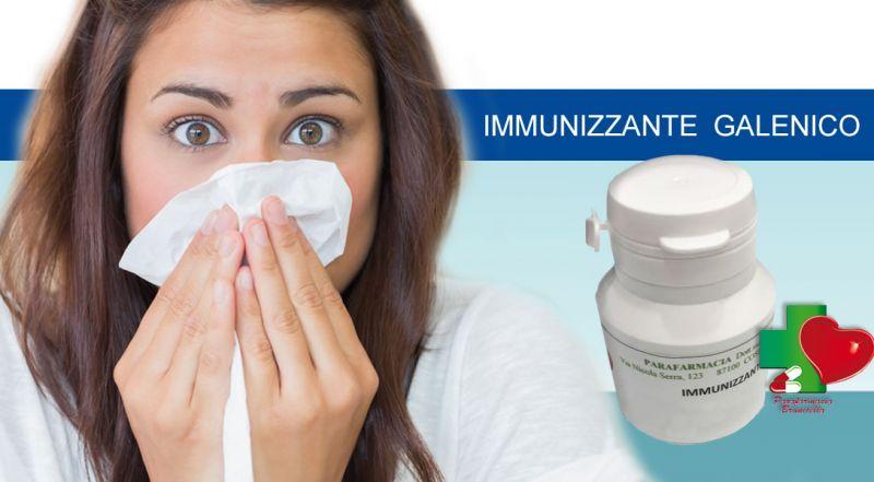 Parafarmacia Brunicella - Offerta immunizzante galenico contro raffreddore e influenza cosenza