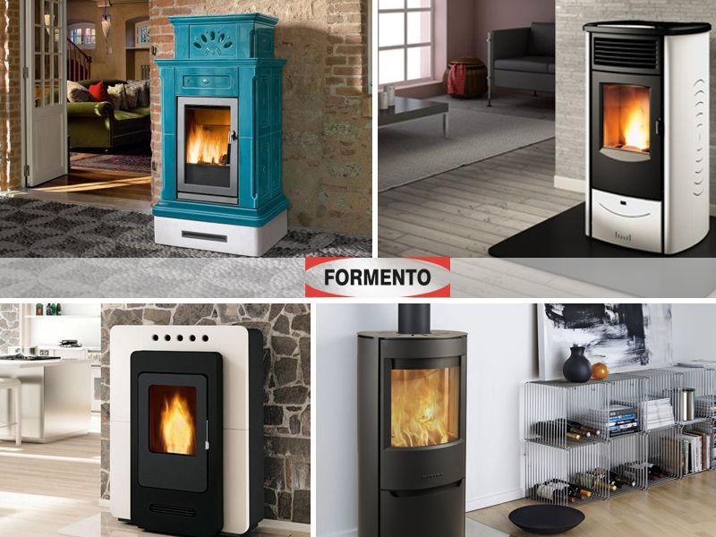 Offerta  servizio vendita e distribuzione stufe e caldaie a biomassa a Torino - Formento