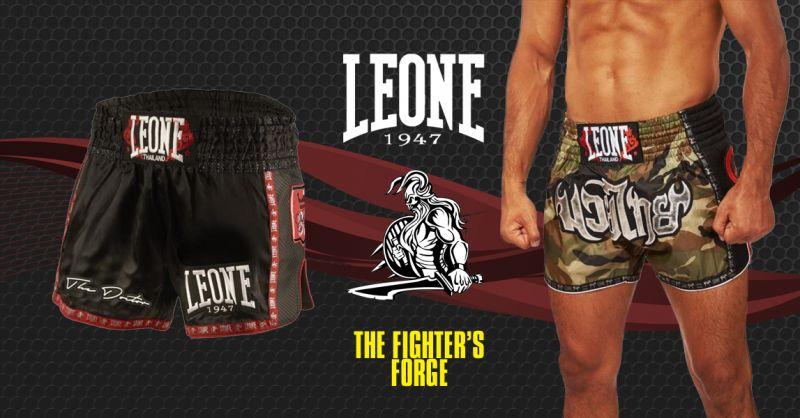 offerta pantaloncini thai boxe mma leone torino - occasione shorts thai boxe mma torino