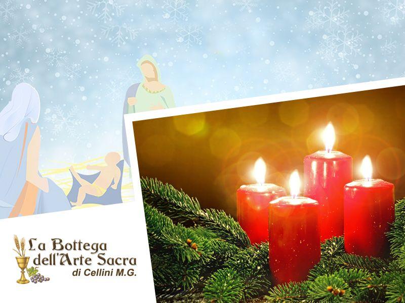 offerta candele dell'avvento - promozione anteprima natazilia