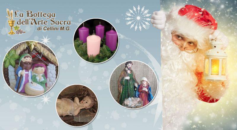 Offerta presepe e statuine sacre Cosenza – Promozione articoli natalizi e corona dell'avvento Cosenza