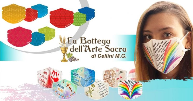 Offerta vendita mascherine lavabili riutilizzabili Cosenza - occasione mascherine TNT colorate