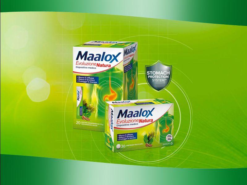 offerta maalox evoluzione natura promozione maalox reflusso farmacia dr domenico pomes