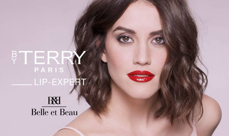 BELLE ET BEAU PARFUMERIE offerta lip expert matte&shine by terry - promozione test kiss