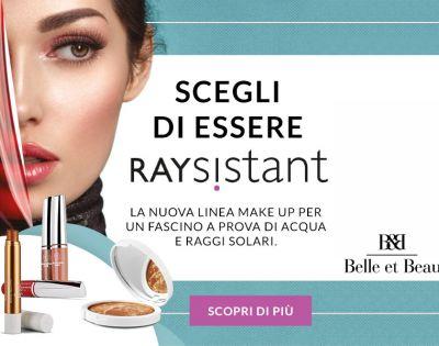 belle et beau parfumerie offerta raysistant make up promozione cosmetici australian gold