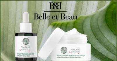 promozione prodotti per la cura del viso annayane wakame belle et beau