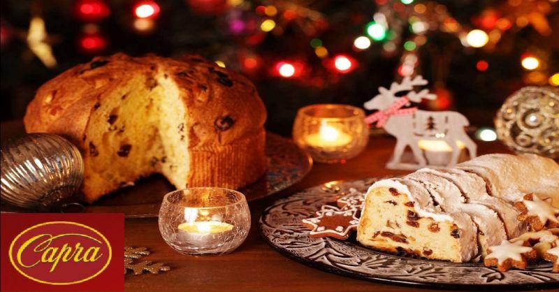 PASTICCERIA CAPRA offerta produzione panettoni gastronomici - occasione dolci natalizi Piacenza