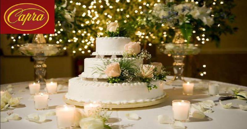 PASTICCERIA CAPRA offerta produzione torte per matrimoni - occasione torte per cresime Piacenza