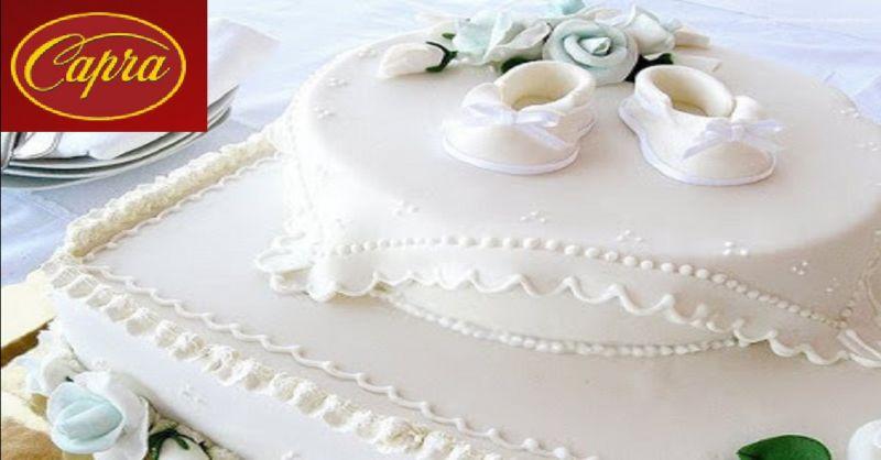 PASTICCERIA CAPRA offerta torte per battesimi - occasione vendita idee regalo a Piacenza