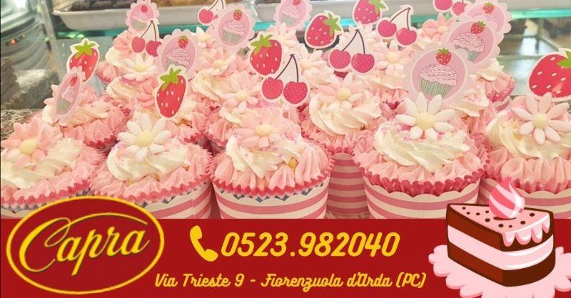 Offerta vendita cupcake artigianali Piacenza - Occasione migliore pasticceria artigianale Fiorenzuola D'Arda