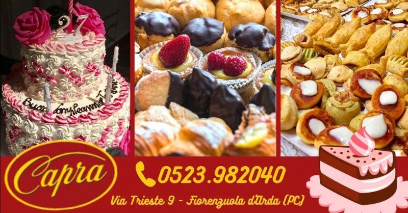 Offerta pasticceria dolce salata artigianale Piacenza - Occasione realizzazione torte per matrimoni Piacenza provincia