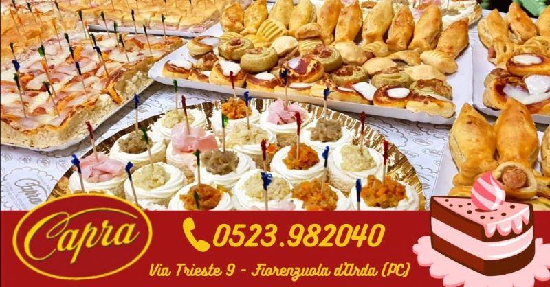 Offerta vendita salatini artigianali per buffet Piacenza - Occasione produzione stuzzichini per aperitivo